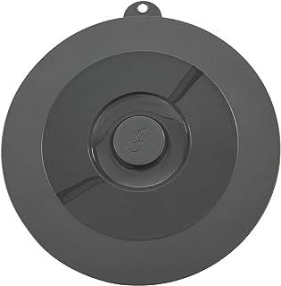 Lurch 220601Tapa Universal para ollas, sartenes y Cuencos, Silicona, Gris, 21x 21x 1,5cm