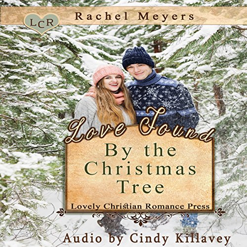 Love Found by the Christmas Tree audiobook cover art