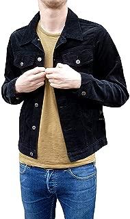 L M XXL S Meda Uomo Vintage Lee Manica Lunga Camicie Jeans XS XL