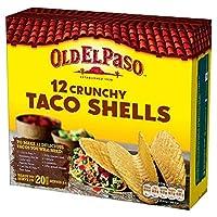 古いエルパソタコスの156グラム - Old El Paso Taco Shells 156g [並行輸入品]