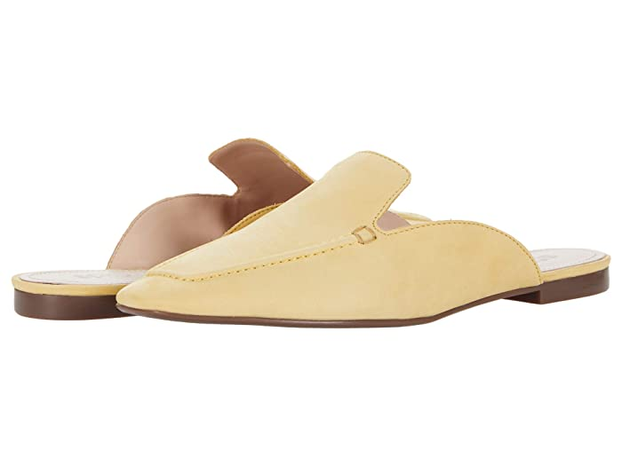 Retro Vintage Flats and Low Heel Shoes Schutz S-Nady New Yellow Womens Shoes $68.00 AT vintagedancer.com