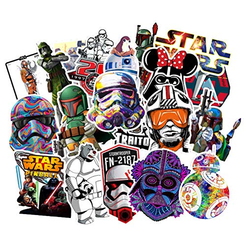 Barisc Aufkleber Mehrfarbig Star Wars(2) 100Stück(e)