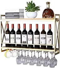 HTTJJ Wine Bottle Stand for Wall mounting/Glass Bottle Holder Rack/Wine Rack Wall Mounted Wine Bottle Holder/Wine Rack and...