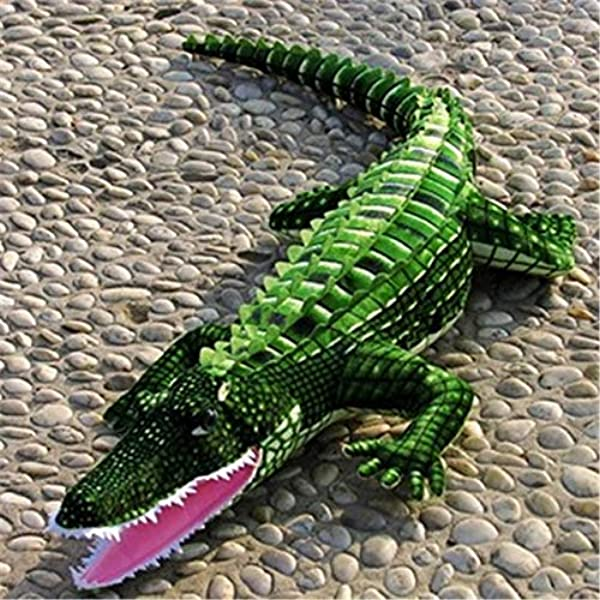 Realistic Soft Plush Animals Stuffed Toys Crocodile For Kids Pillow And Gifts 40 Inches Or 100CM 1PC