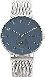 [スカーゲン]腕時計 メンズ SKAGEN SKW6468 ネイビーブルー シルバー [並行輸入品]