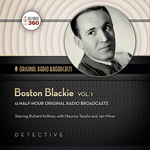 Boston Blackie, Volume 1 copertina