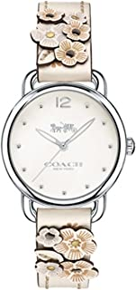 Coach Womens Quartz Watch, Analog Display and Leather Strap 14502760