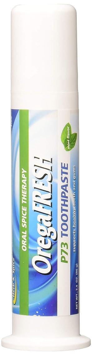 OregaFresh P73 Toothpaste, 3.4 oz (Pack of 3)
