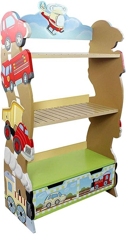 Estantería for niños 4-Tercer Librero niños de Madera Estante ...