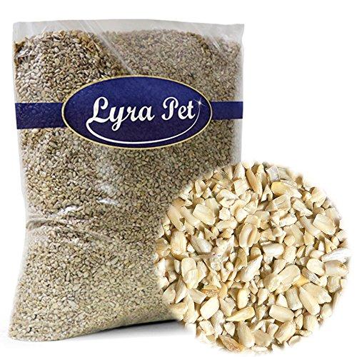 Lyra Pet® 5 kg Sonnenblumenkerne 5000 g geschält BRUCH Winter Wildvogelfutter Ernte 2019