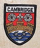 Cambridge Wappen, bestickter Aufnäher