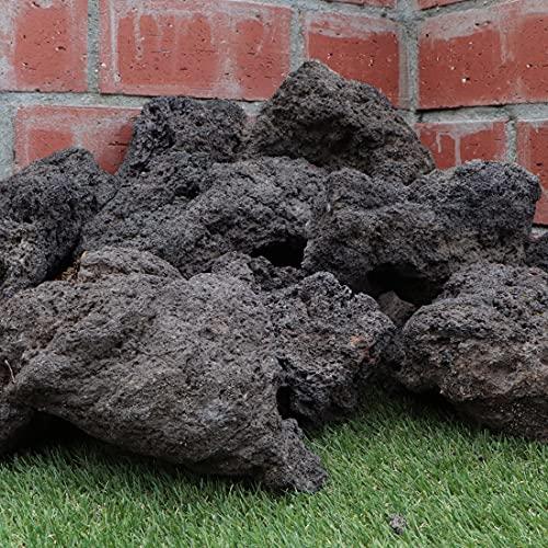 溶岩石 ミックスブラック 150-300mm 8kg