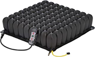 Roho High Profile Wheelchair Cushion with Smart Check Pressure Sensor Remote, 18 x 18 - Adjustable Pressure Relief Air Sea...