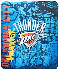 """NBA Hard Knocks Printed Fleece Throw, 50"""" x 60"""""""