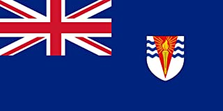 magFlags Large Flag Government Ensign of The British Antarctic Territory | Landscape Flag | 1.35m² | 14.5sqft | 80x160cm | 30x60inch - 100% Made in Germany - Long Lasting Outdoor Flag