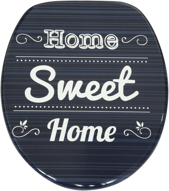 WC WC WC Sitz, hochwertige Oberfläche, einfache Montage, stabile Scharniere, Home Sweet Home B073VR3JMB 1f95ec