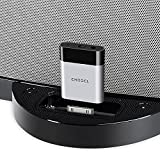 CHOOCL 30 pin Bluetooth 5.0 aptX-HD Adapter Receiver for Bose SoundDock and Other iPhone iPod 30 pin Music Docking Station Speakers
