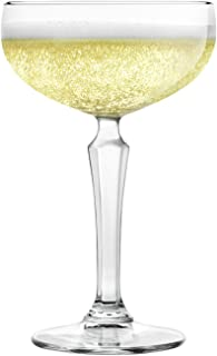 Libbey Capone Speakeasy Coupe Cocktail Glasses, Set of 4