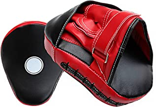 Demana Pair of Sanabul Essential Curved Boxing MMA Punching Mitts Boxing Training Punch Gloves