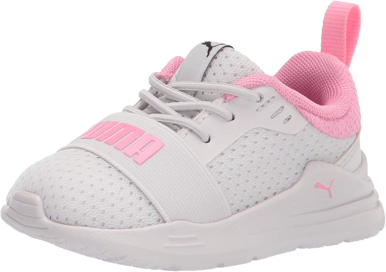 PUMA unisex-child Wired Run Slip on Sneaker