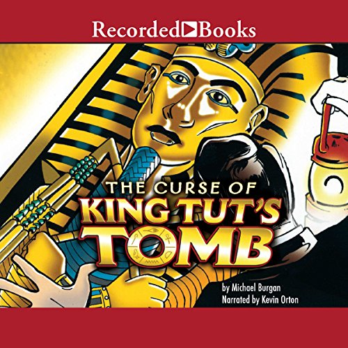 Curse of King Tut's Tomb audiobook cover art