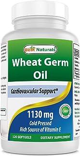Best Naturals Wheat Germ Oil 1130 mg 120 Softgels