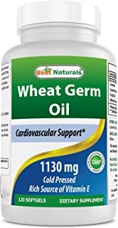 Best Naturals Wheat Germ Oil 1130 mg 120 Softgels