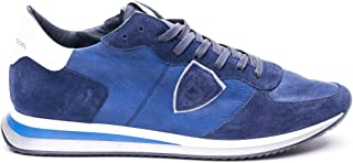 Philippe Model Luxury Fashion Mens TZLUWW17 Blue Sneakers   Spring Summer 20