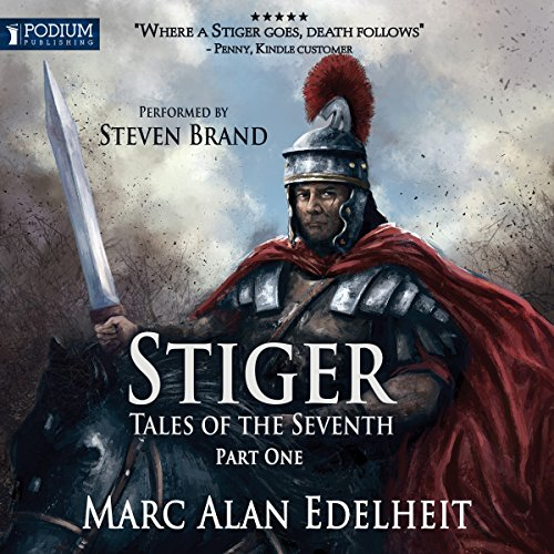 Stiger audiobook cover art