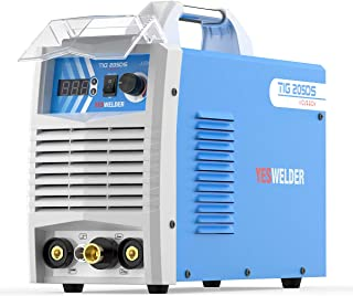 YESWELDER 205 Amp HF TIG/Stick/Arc TIG Welder 110 & 220V Dual Voltage TIG Welding Machine