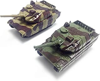 GSDCNV Tanque Juguete Niños Plástico Modelo Soldados Ejército Regalos Militar Vehículos Niños Educativo Gira Cañón Mini Colección Guerra - como Cuadro Show, Free Size