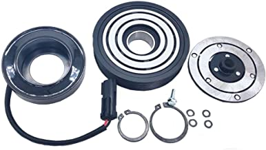 A/C AC Compressor Clutch Repair Kit - Drive Plate Hub Pulley Bearing Coil for Jeep Liberty 6 Cyl. 3.7L 2002 2003 2004 2005
