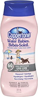 Coppertone Water Babies Sunscreen Lotion SPF60, 237ml