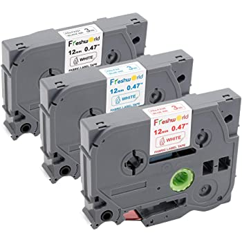 Schriftband Tape 12mm S-SO für BROTHER P-Touch D400,D400VP
