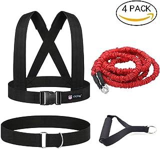 YNXing Cuerda de entrenamiento de resistencia explosiva para entrenamiento físico, mejora la velocidad, la resistencia y la fuerza