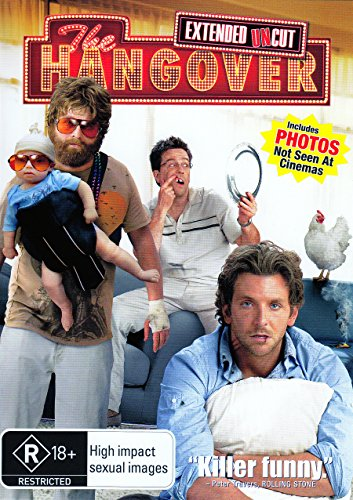 The Hangover [R18+] [Extended Edition] [Uncut] [NON-UK Format / PAL / Region 4 Import - Australia]