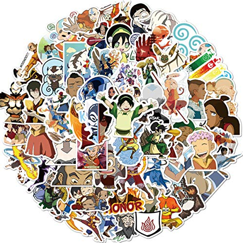 The Avatar Stickers/Decals (100 pcs) for Laptop Skateboard Snowboard Water Bottle Phone Car Bicycle Luggage Guitar Computer as Gift(Avatar2)