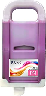 PFI701PM Ink Cartridge Replacement, Compatible Canon iPF8000 iPF9000 Inkjet Printer, Refillable Tank 700ML with Chip and I...