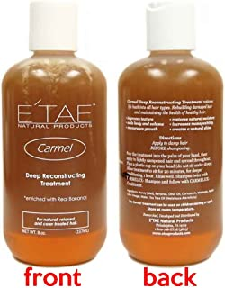 Etae Carmel Deep Reconstructing Hair Treatment 8oz