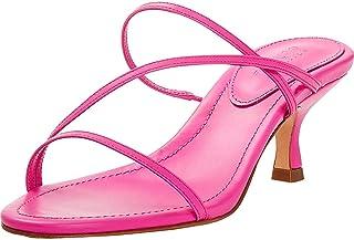 Schutz | Evenise Sandals | Neon Pink
