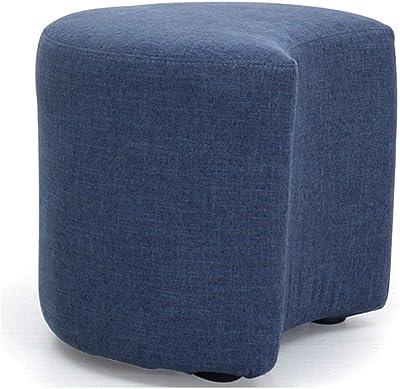 45,7 cm de ancho Marca  -/Rivet Ross azul vaquero Otomana de tweed con tapa para almacenaje