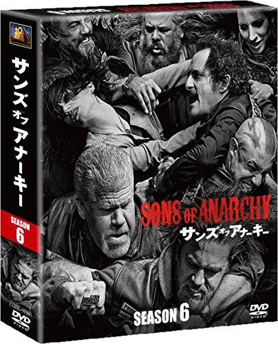 Charlie Hunnam - Sons Of Anarchy Season 6 (7 Dvd) [Edizione: Giappone]