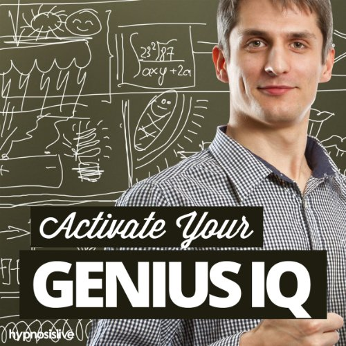 Activate Your Genius IQ Hypnosis audiobook cover art