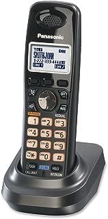 Panasonic KX-TGA939T New DECT 6.0 Technology Night Mode Backlit LCD Display Flash Extra Handset for KX-TG93XX Cordless Phones Series, Metallic Black