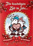 Sheepworld 49805 Partner-Adventskalender, für Paare, aufklappbarer Kalender, mit Schokolade, Mehrfarbig, 1er Pack (1 x 150)