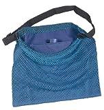 SEAC Lux Bolsa de Red con Correa Regulable, Hombre, Azul, M/L