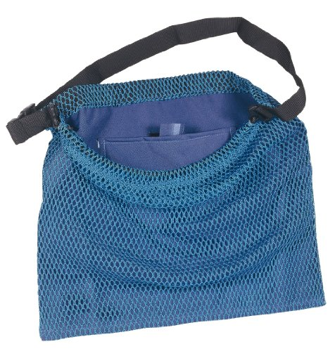 SEAC Lux Bolsa de Red con Correa Regulable, Hombre, Azul, M/