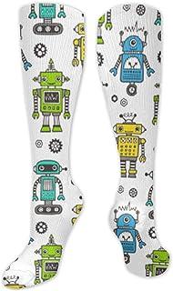 MISS-YAN, Retro ts - Calcetines para hombre y mujer, divertidos y locos
