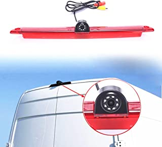 Car Third Roof Top Mount Brake Lamp Camera Brake Light Rear View Backup Camera for Express GMC GM Chevy Savana Cargo Van Master Dachkamera/Bremslicht/Bremsleuchte/Brake Lamp