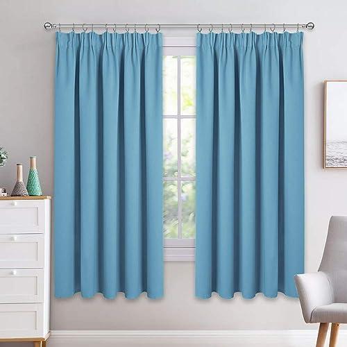 Turquoise Curtains Amazon Co Uk